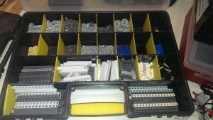 Typisk lego som blir brukt i FLL