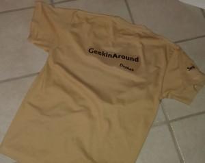 Logo på t-skjortene