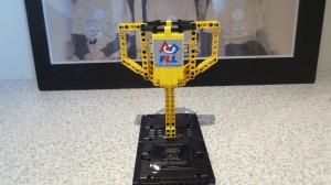 Førstepris i robotkonkurransen