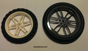 Sammenligner hjul