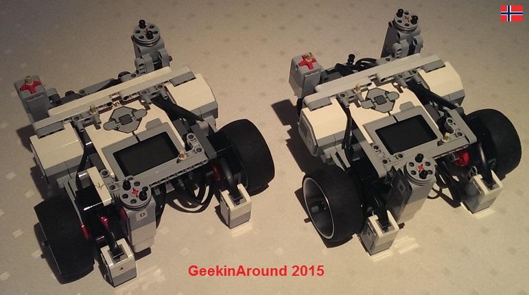 GeekinArounds Roboter 2015