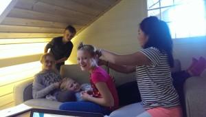 Fletting av hår