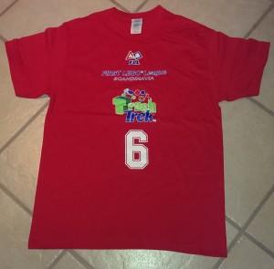Årets t-skjorte for lag 6