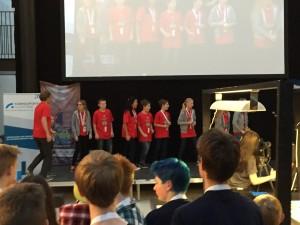 Premieutdeling Teknologiprisen 2015 på Lillestrøm