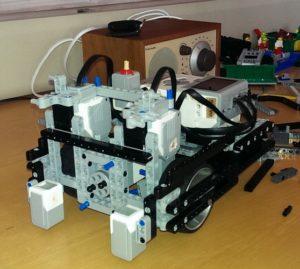 Testbygg av ny robot